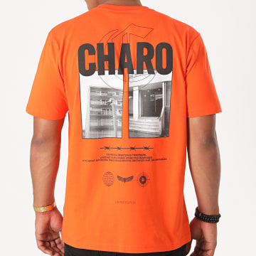 Charo - Tee Shirt Terrain Orange