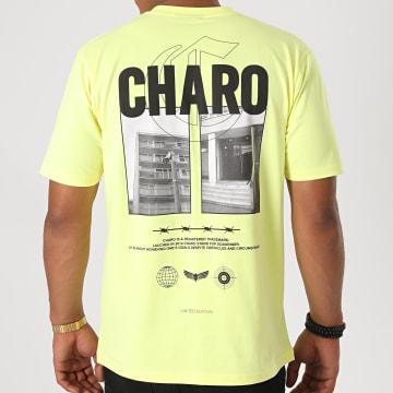 Charo - Tee Shirt Terrain Jaune