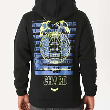 Charo - Sweat Capuche End World Noir