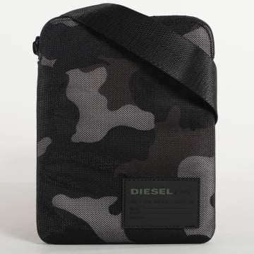 Diesel - Sacoche Discover Ross X06343 Camouflage Noir