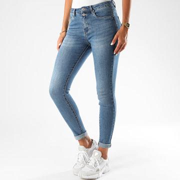 Girls Outfit - Jean Skinny Femme P108 Bleu Denim