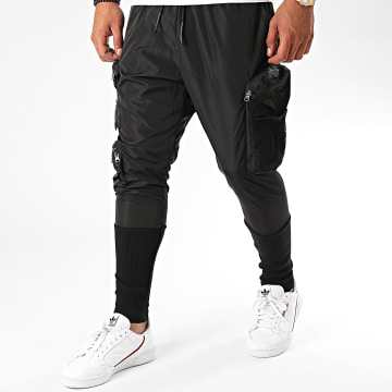 Ikao - Pantalon Jogging F938 Noir