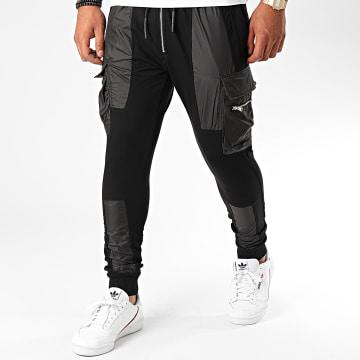 Ikao - Pantalon Jogging F941 Noir