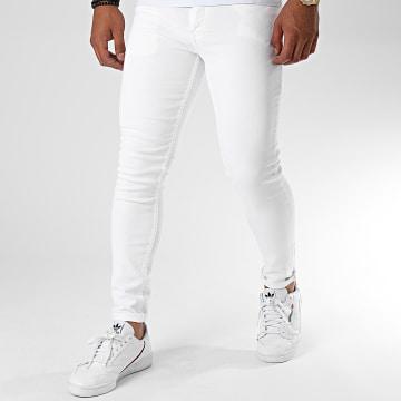 Ikao - Jean Slim LL005 Blanc