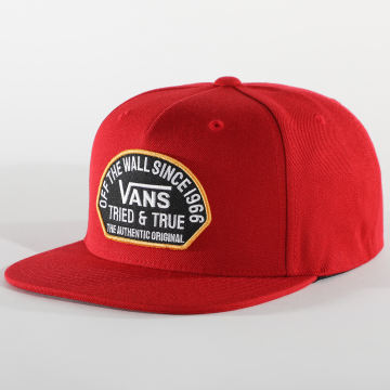 Vans - Casquette Snapback Authentic OG Rouge