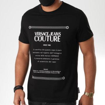 Versace Jeans Couture - Tee Shirt Garanzia B3GZA7TE-30319 Noir