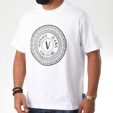 Versace Jeans Couture - Tee Shirt Regular 48 B3GZA7TJ-30319 Blanc