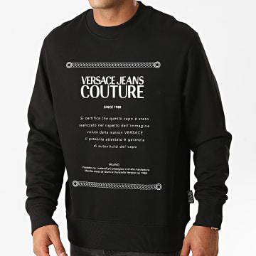 Versace Jeans Couture - Sweat Crewneck B7GZA7TO-30318 Noir