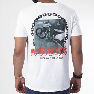 C'est Rien C'est La Rue - Tee Shirt Chain Blanc