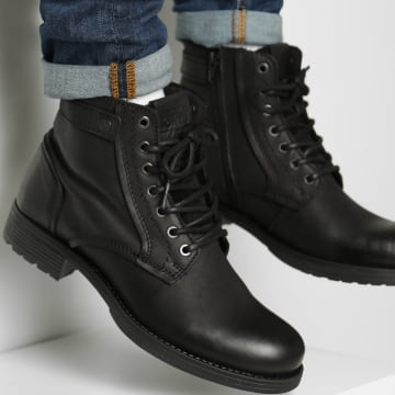 Jack And Jones - Bottines Angus 12175947 Anthracite