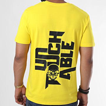 Untouchable - Tee Shirt Logo 2020 Jaune