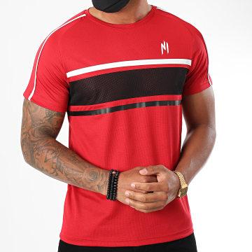 NI by Ninho - Tee Shirt Diamond Rouge Noir