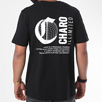 Charo - Tee Shirt Logo Noir