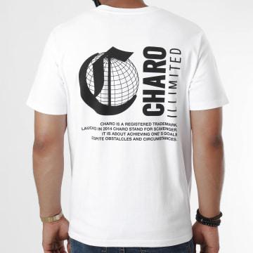 Charo - Tee Shirt Logo Blanc