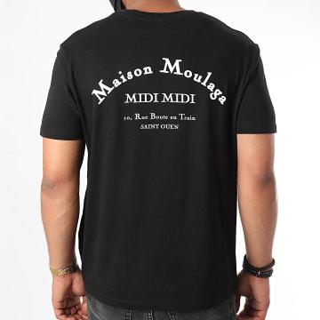 Heuss L'Enfoiré - Tee Shirt Maison Moulaga Noir