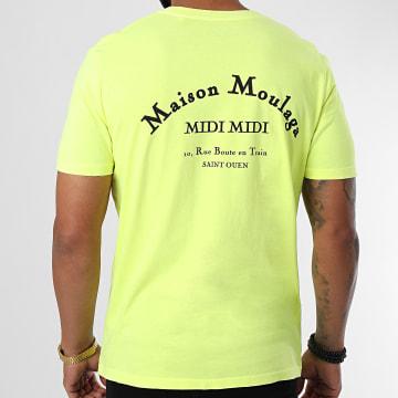 Heuss L'Enfoiré - Tee Shirt Maison Moulaga Jaune