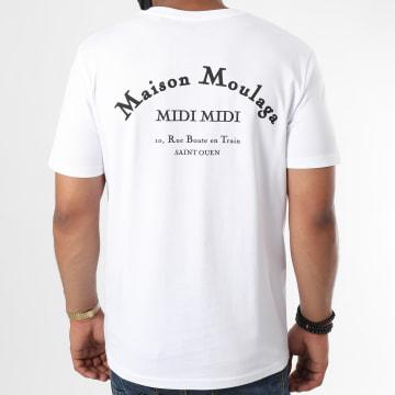 Heuss L'Enfoiré - Tee Shirt Maison Moulaga Blanc