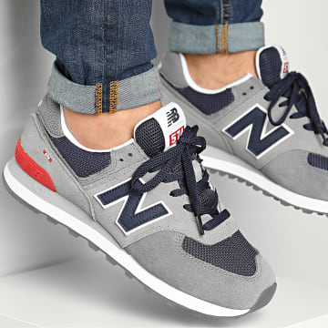New Balance - Baskets Classics 574 774921 Grey Navy