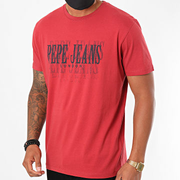 Pepe Jeans - Tee Shirt Snow PM507286 Rouge