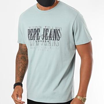 Pepe Jeans - Tee Shirt Snow PM507286 Bleu Clair