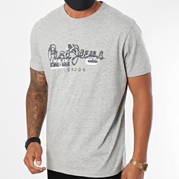 Pepe Jeans - Tee Shirt Salomon PM507272 Gris Chiné