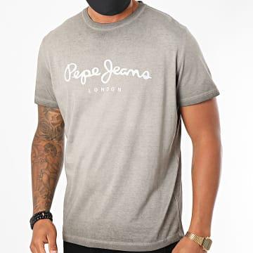 Pepe Jeans - Tee Shirt West Sir PM504032 Gris Clair