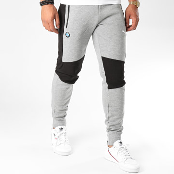 Puma - Pantalon Jogging BMW Motorsport 598002 Gris Chiné