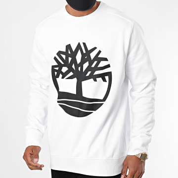 Timberland - Sweat Crewneck Core Logo A2BJ8 Blanc
