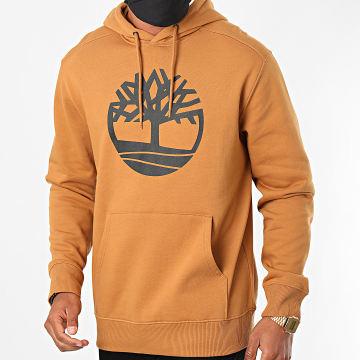 Timberland - Sweat Capuche Core Logo A2BJH Camel