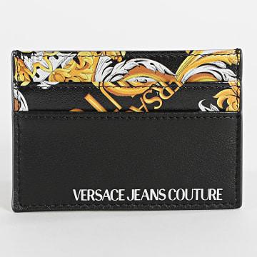 Versace Jeans Couture - Porte-Cartes Renaissance Linea Logo Baroque Dis 6 E3YZAPC7-71596 Noir
