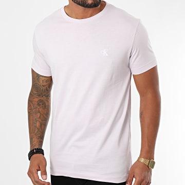 Calvin Klein - Tee Shirt Slim Essential 4544 Mauve
