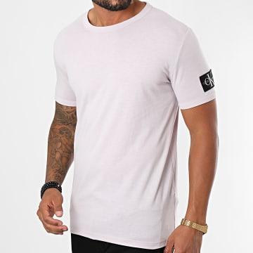 Calvin Klein - Tee Shirt Monogram Badge Grind 5611 Mauve
