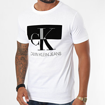 Calvin Klein - Tee Shirt Big CK 5727 Blanc