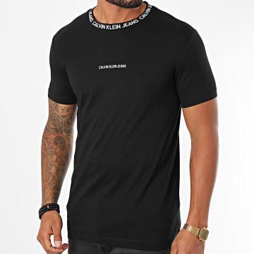Calvin Klein - Tee Shirt Institutional Collar 6053 Noir
