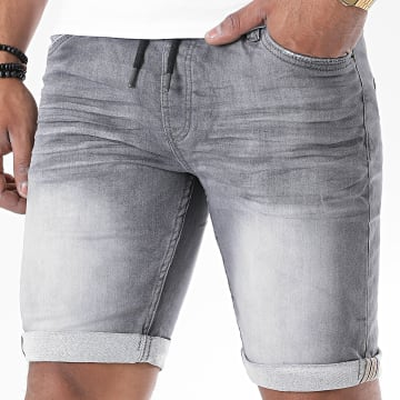 Paname Brothers - Short Jogg Jean Lev Gris