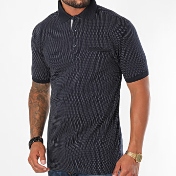 Paname Brothers - Polo Manches Courtes Pitt Bleu Marine