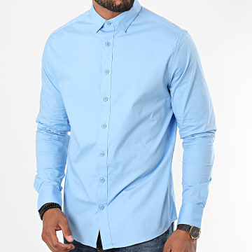 Solid - Chemise Manches Longues Tyler Bleu Clair