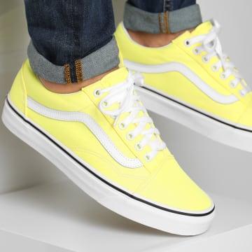 Vans - Baskets Old Skool A4U3BWT7 Lemon Tonic True White