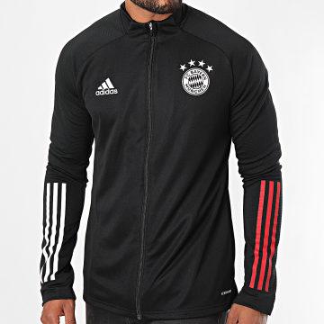 Adidas Performance - Veste De Sport A Bandes FC Bayern FR5372 Noir