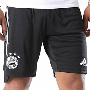 Adidas Performance - Short De Sport A Bandes FC Bayern FR5380 Noir