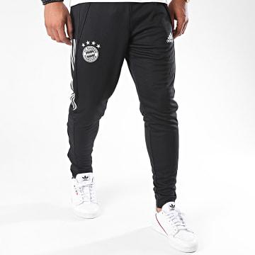 Adidas Performance - Pantalon Jogging A Bandes FC Bayern FR5375 Noir