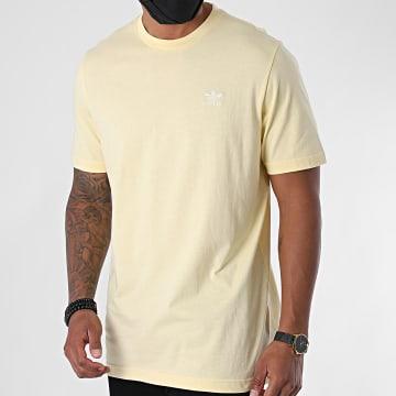 Adidas Originals - Tee Shirt Essential FM9964 Jaune