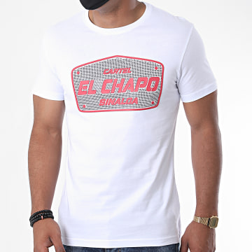 Classic Series - Tee Shirt Strass TS22-90 Blanc