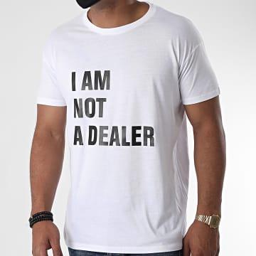 La Franc-Manesserie - Tee Shirt I Am Not A Dealer Blanc