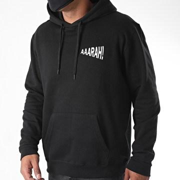 La Franc-Manesserie - Sweat Capuche Aaarah Noir