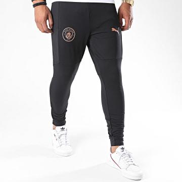 Puma - Pantalon Jogging Slim Manchester City 757880 Noir