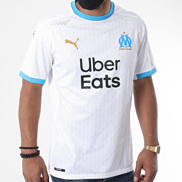 Puma - Tee Shirt De Sport OM Home Authentic 757072 Blanc