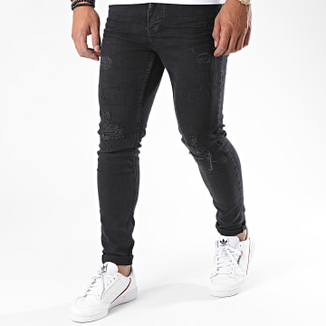 Black Needle - Jean Slim 3178-2 Noir
