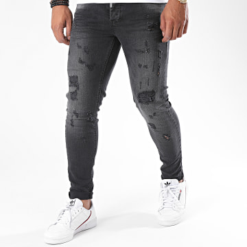 Black Needle - Jean Slim 3181-2 Noir