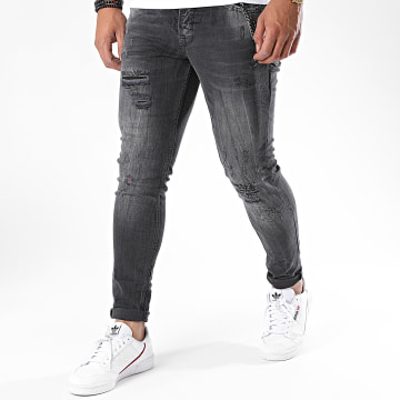 Classic Series - Jean Skinny DHZ-3104-1 Gris Anthracite